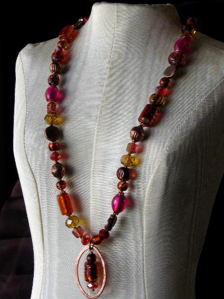Bollywood Glass Necklace