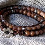 Sunstone Wrap Bracelet