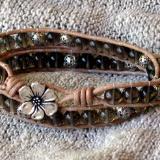 Smoky Quartz Wrap Bracelet